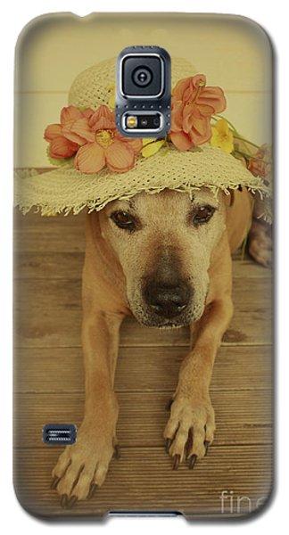 In Her Easter Bonnet Galaxy S5 Case