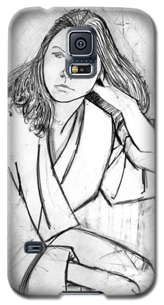 In Her Robe Galaxy S5 Case