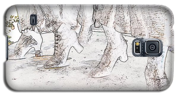 In Her Shoes Galaxy S5 Case by Rhonda McDougall