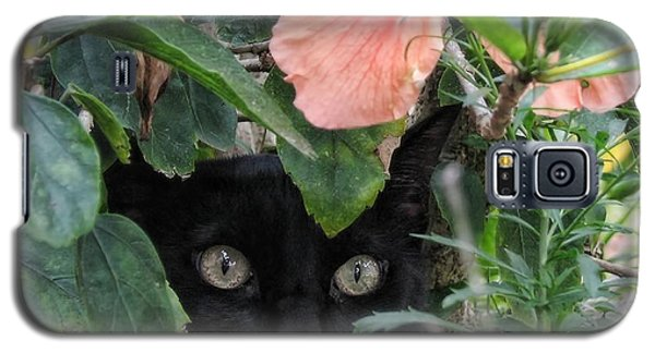 In His Jungle Galaxy S5 Case by Peggy Hughes