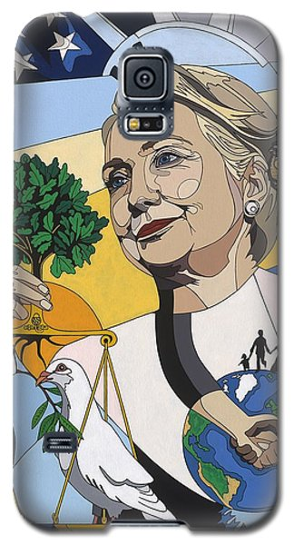 In Honor Of Hillary Clinton Galaxy S5 Case