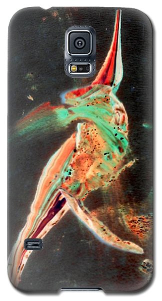 Galaxy S5 Case featuring the painting In Jest by Jacqueline McReynolds