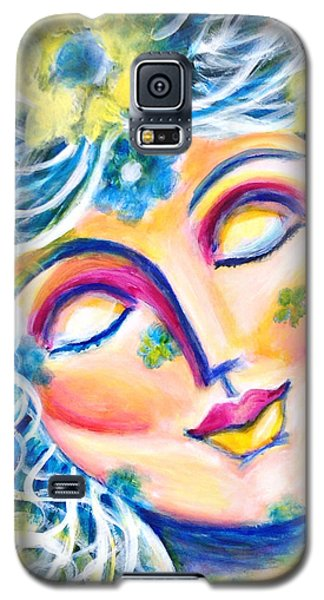Galaxy S5 Case featuring the painting In Love by Anya Heller