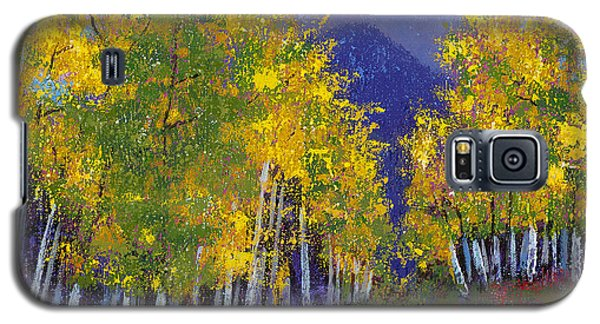 Galaxy S5 Case featuring the painting In Love With Fall River Road by Margaret Bobb