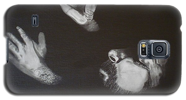 Galaxy S5 Case featuring the painting In Memory Of My Father by Stuart Engel