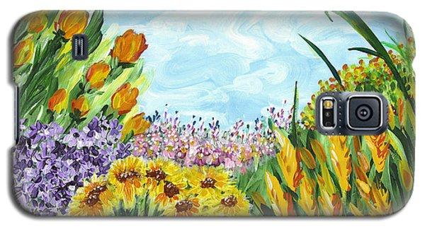 In My Garden Galaxy S5 Case by Holly Carmichael