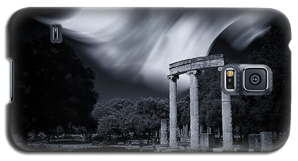 Galaxy S5 Case featuring the photograph In The Altis Of Olympia by Micah Goff