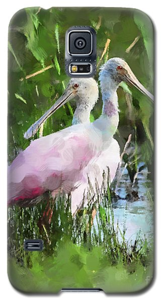 Galaxy S5 Case featuring the photograph In The Bayou #2 by Betty LaRue