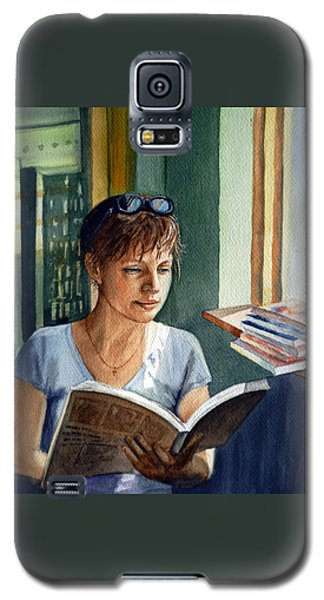 In The Book Store Galaxy S5 Case by Irina Sztukowski