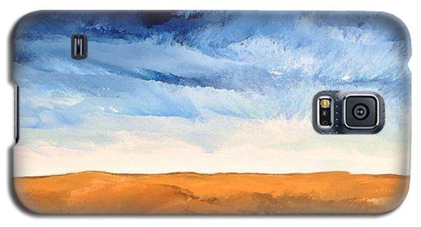 Galaxy S5 Case featuring the painting In The Distance by Linda Bailey