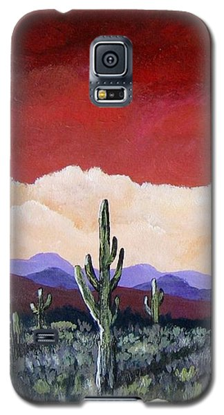 Galaxy S5 Case featuring the painting In The Distance by Suzanne Theis
