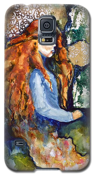Galaxy S5 Case featuring the mixed media In The Dream by P Maure Bausch