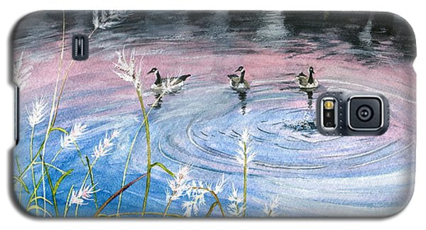 Galaxy S5 Case featuring the painting In The Dusk by Melly Terpening