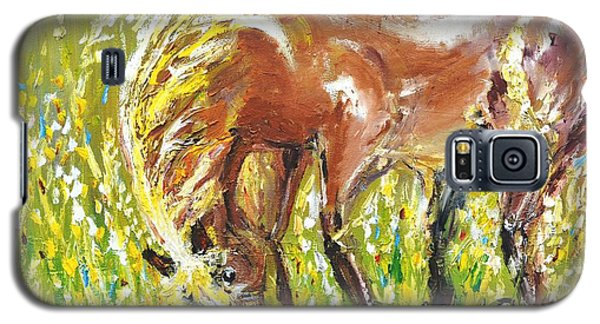 In The Field Galaxy S5 Case by Evelina Popilian