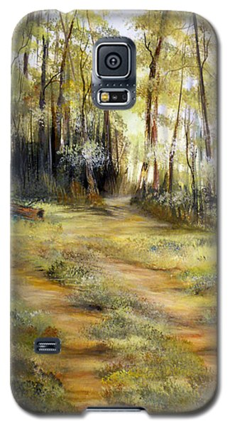 Galaxy S5 Case featuring the painting In The Forest by Dorothy Maier