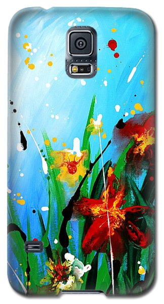 In The Garden Galaxy S5 Case by Kume Bryant