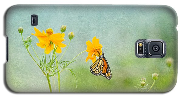 In The Garden - Monarch Butterfly Galaxy S5 Case