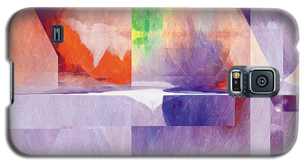 Galaxy S5 Case featuring the painting In The Land Of Forgetting 24 by The Art of Marsha Charlebois