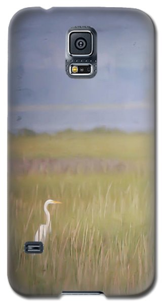 Galaxy S5 Case featuring the photograph In The Marsh  by Kerri Farley