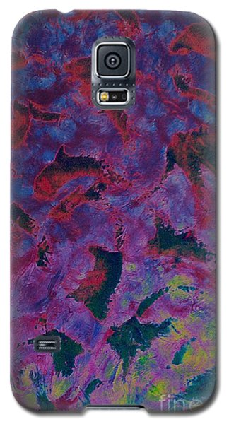 Galaxy S5 Case featuring the painting In The Mind's Eye by Jacqueline McReynolds