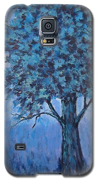 Galaxy S5 Case featuring the painting In The Mist by Suzanne Theis
