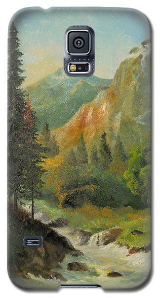 In The Mountains  Galaxy S5 Case by Sorin Apostolescu
