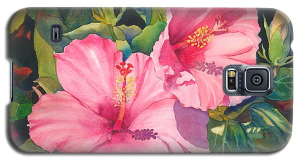 In The Pink Galaxy S5 Case by Judy Mercer