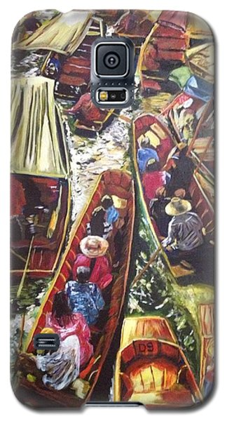 In The Same Boat Galaxy S5 Case by Belinda Low