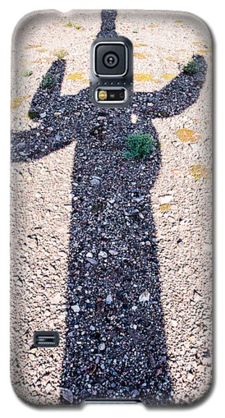 In The Shadow Of A Saguaro Cactus Galaxy S5 Case