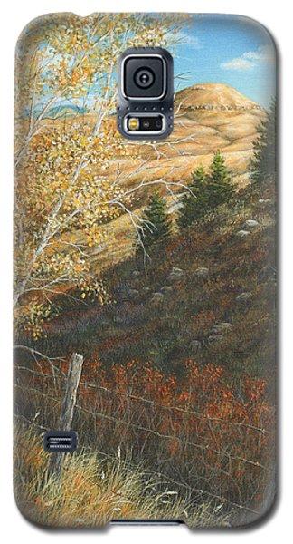 Belt Butte Autumn Galaxy S5 Case