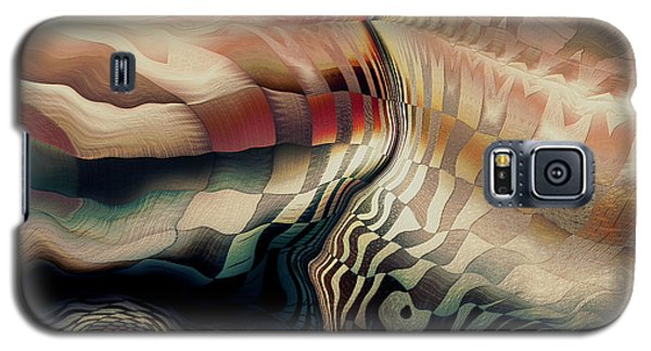 Galaxy S5 Case featuring the digital art In The Shadow Of My Doubt by Kim Redd