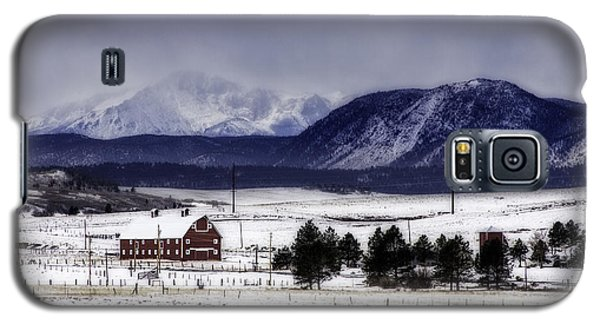 Galaxy S5 Case featuring the photograph In The Shadow Of Pike's Peak by Kristal Kraft