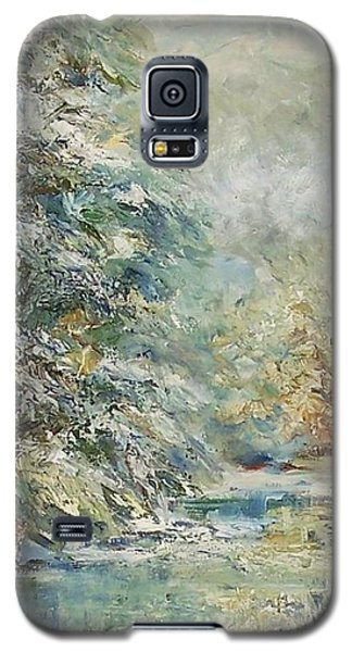 In The Snowy Silence Galaxy S5 Case by Mary Wolf