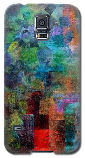 Galaxy S5 Case featuring the mixed media In The Wind by Jim Whalen