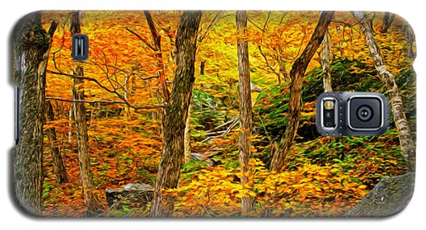 Galaxy S5 Case featuring the photograph In The Woods by Bill Howard