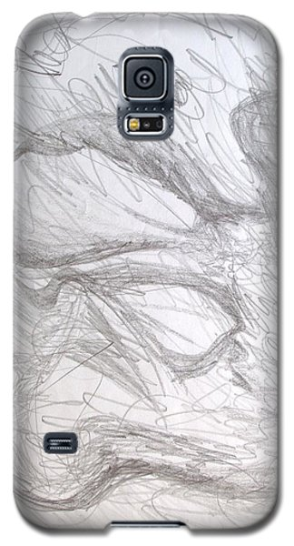Galaxy S5 Case featuring the painting In Vitro by Esther Newman-Cohen