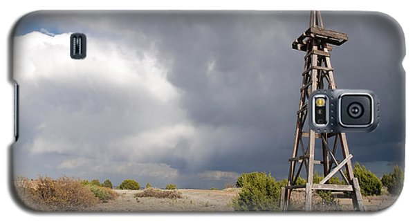 Incoming Storm On The High Plains Horizontal Galaxy S5 Case