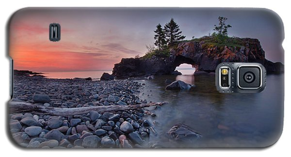 Hollow Rocks, North Shore Mn Galaxy S5 Case by RC Pics