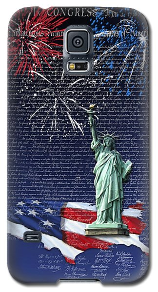 Independence Day Galaxy S5 Case by Kathleen Holley