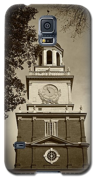 Independence Hall - Bw Galaxy S5 Case