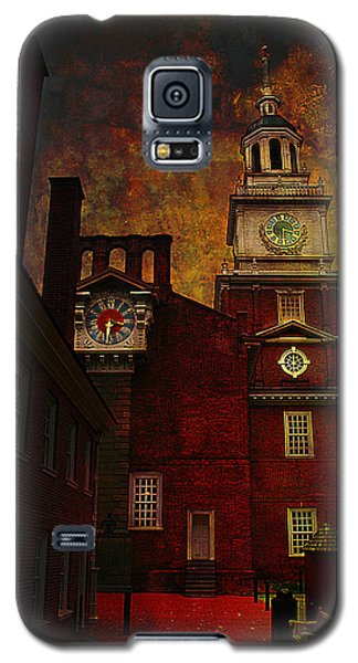 Independence Hall Philadelphia Let Freedom Ring Galaxy S5 Case by Jeff Burgess