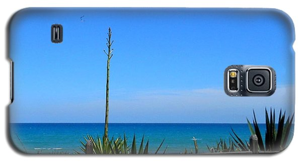 Galaxy S5 Case featuring the photograph Indialantic By The Sea by Kay Gilley