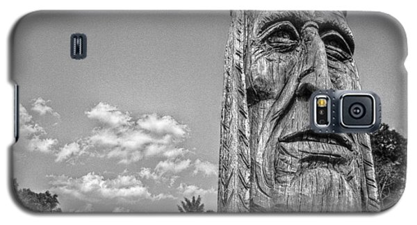 Indian Chief Charlestowne Landing Galaxy S5 Case
