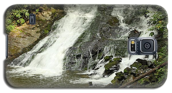 Galaxy S5 Case featuring the photograph Indian Creek Falls by Harold Rau