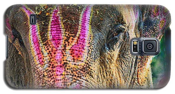 Indian Elephant Galaxy S5 Case by John Hoey