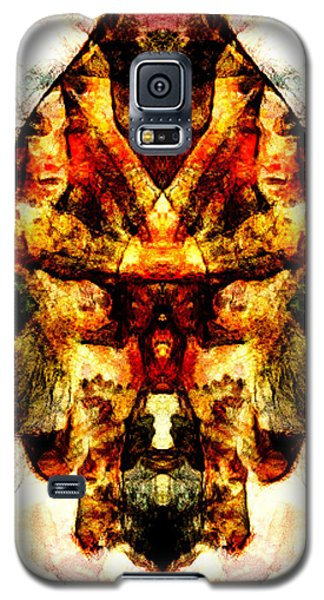 Galaxy S5 Case featuring the digital art Indian Flavour by Andrea Barbieri