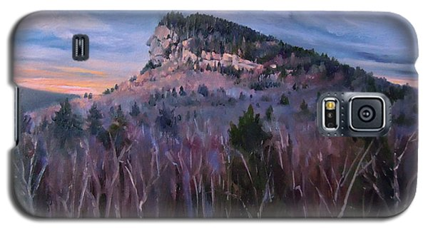 Indian Head In Lincoln New Hampshire Galaxy S5 Case