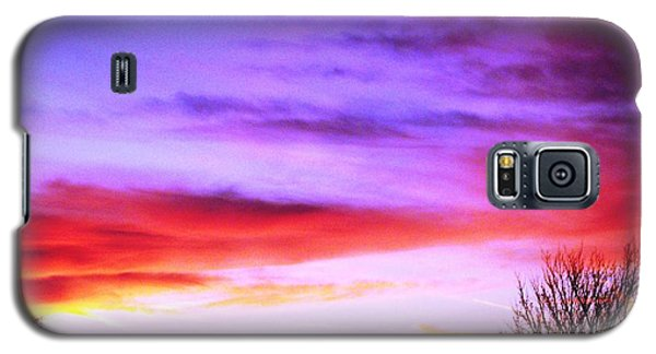 Indian Morning Sky Galaxy S5 Case by Belinda Lee