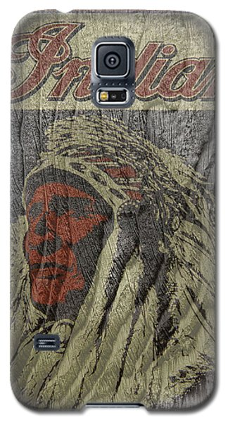 Indian Motorcycle Postertextured Galaxy S5 Case