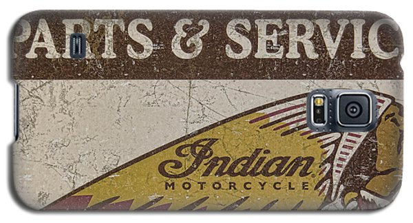 Indian Motorcycle Sign Galaxy S5 Case
